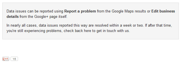 Google Places Troubleshooter Down