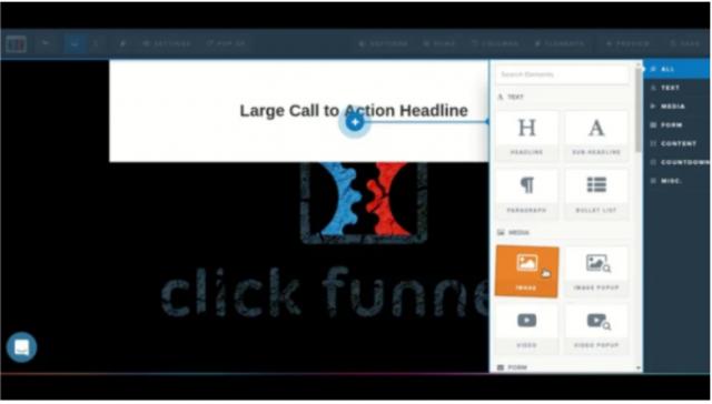 Clickfunnels Action Headline