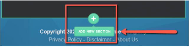 Add New Section