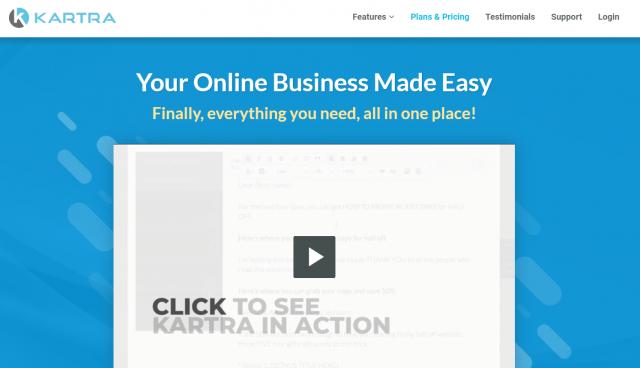 Kartra  - Overview