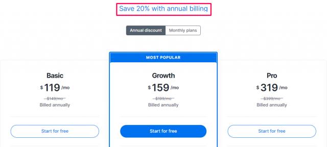 Kajabi - Pricing